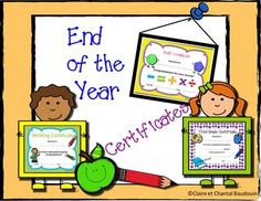 Here are end of year Certificates from first to fifth grade. There are also 10 Certificates of merits for different occasions. This product is a great way to value your students. Second Grade Math, Fifth Grade, Certificate Of Merit, Motivational Activities, Ontario Curriculum, Math Challenge, Teaching Special Education, And July, Student Motivation