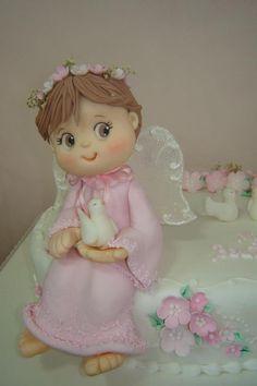 porcelana fria polymer clay pasta francesa masa flexible fimo figurine modelado modelling cake topper