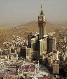 Torres Abraj Al Bait de Arabia Saudí