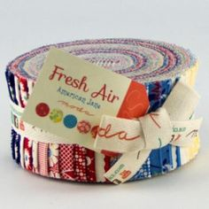 Fresh Air Jelly Roll by American Jane for Moda. by OliesShoppe