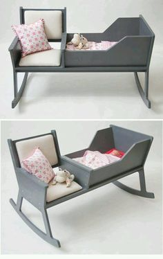 From Stylish Eve: Baby rocking chair ! Baby Bedroom, Baby Room Decor, Kids Bedroom, Baby Furniture, Furniture Design, Rocking Chair, Kids And Parenting, Wood Projects, New Baby Products