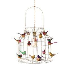Hanglamp met vogeltjes goud mixed - Hanglampen - Loods 5 Giraffe, Elephant, Lego For Kids, Lego Brick, Kidsroom, Led Lamp, Pendant Lighting, Diy, Bricolage