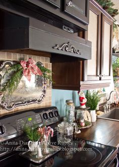 """I didn't set out to have """"Farmhouse style"""" in the kitchen. If you know me, you know I tend to run the opposite direction from trends, but a..."""