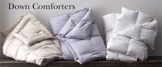 Filled with LaCrosse®, European or goose down, our best quality down comforters will give the sleep you deserve. Utility Bed, Down Comforter, Bedding Basics, Bedding Collections, Decoration, Bed Sheets, Comforters, Duvet Covers, Quilt
