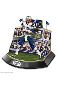 Celebrate Tom Brady and the Pats epic win with this collectible sculpture. Shop Now!