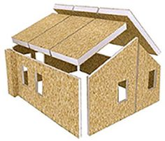 Affordable Energy Efficient Building Solutions for Residential & Commercial Construction Prefabricated Houses, Prefab Homes, Modular Homes, Sip House, House Roof, Cabin Design, Small House Design, Metal Shop Building, Building A House