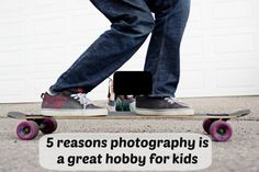 Why photography is a great hobby for kids from Tween Us blog and Kids Photography Academy