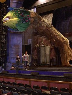 little shop of horrors set design | Little Shop of Horrors finale (BroadwayWorld.com)