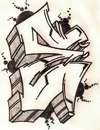 Graffiti Font E Alphabet Styles Letters 8