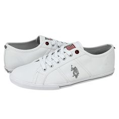 Callow - Ανδρικά παπούτσια casual U.S. Polo ASSN από υφασμα με υφασμάτινη φόδρα και συνθετική σόλα.  Διατίθεται σε χρώμα Μπλε, Κόκκινο, Λευκό και Μαύρο.