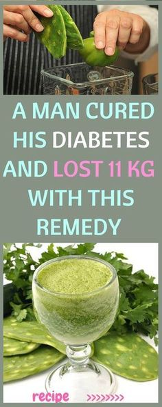 STORY OF A MAN WHO A MAN CURED HIS DIABETES AND LOST 11 KG IN 25 DAYS WITH HOMEMADE REMEDY !!! » Plain Live
