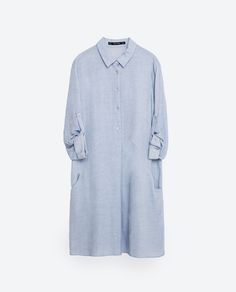 TUNIC WITH SLANTED POCKET-View All-DRESSES-WOMAN   ZARA United States