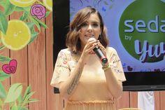 Yuya presentó su nueva línea de productos para el cabello Sedal Detox by Yuya, que promete resultados óptimos para tu cabello.