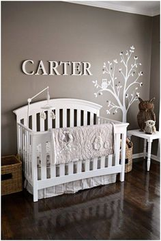 Looking for great baby boy nursery ideas? Here are 12 awesome decorations and designs for your baby boy room. Don't miss them if you want to have the best nursery room! Baby Bedroom, Baby Boy Rooms, Baby Room Decor, Baby Boy Nurseries, Nursery Room, Kids Bedroom, Nursery Decor, Gray Nurseries, Kids Rooms