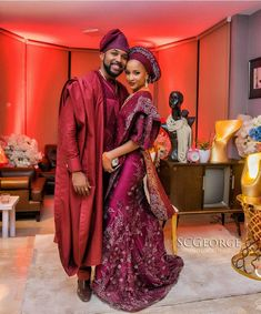 Nigerian Celebrity Weddings- Official Photos From Actors Adesua Etomi & Banky Wellington's Family Introduction
