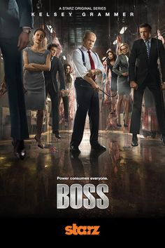 Kelsey the BOSS - he's pretty scary in this new role - not Frasier any more!  Watch both series.