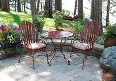 Another patio set i want.