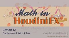 full training Here : http://www.hossamfx.org/math-in-houdini-vol2/ How to use the quaternion with wire solver to controlling the simulation behavior.