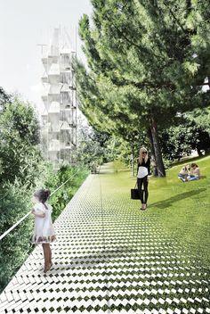 EUROPAN 12 : KAGRAN (architect) . rica studio