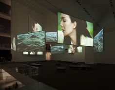 Isaac Julien. Ten Thousand Waves. 2010. Nine-channel video installation (color, sound). MOMA