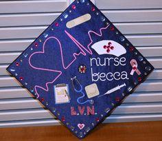 Graduation Cap Decoration Nursing