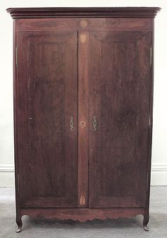Louisiana Armoire With Inlay. Mahogany. Circa 1810. Southern Furniture,  Armoires, Antique