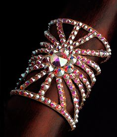 Bettina Rhinestone Bracelet HJ202 CAB| Dancesport Fashion @ DanceShopper.com