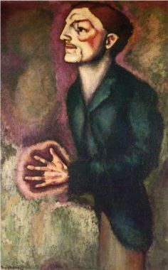 Marcel Duchamp (1887 - 1968)   Post-Impressionism   Portrait of Dr. Dumouchel - 1910