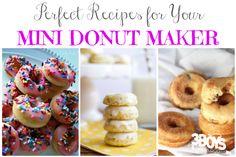 21 Perfect Mini Donut Maker Recipes