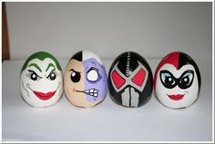 Villains Unite On These Wonderful Batman: The Animated Series Easter Eggs made by Renata Rossato