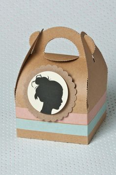 Kraft paper favor boxes from £3.50 per 10