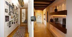 Ecco per voi oggi una piccola selezione di 20 idee per decorare il vostro corridoio! Date un'occhiata a queste idee e liberate la vostra creatività.. Interior Desing, Divider, Sweet Home, House Styles, Room, Furniture, Home Decor, Studio, Houses