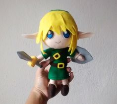 Link - The legend of Zelda | Kitsune Store | Elo7