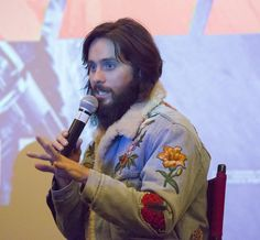 Jared Leto Photos - Actor Jared Leto is interviewed at the Code Blade Runner 2049 screening event at the Alamo Drafthouse New Mission on October 5, 2017 in San Francisco, California. - Jared Leto Photos - 2 of 4473