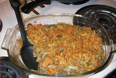 Vegan Green Bean Casserole | I think this is the one Auntie Nancy made for Thanksgiving last year and it was SO yummy. Even the Carnivores thought it was better than the original.