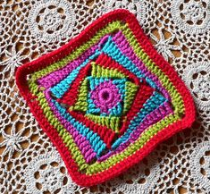 LINDEVROUWSWEB results for: huh crochet on the square