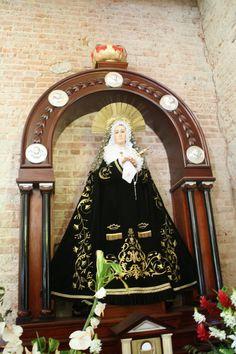 Virgen de la Soledad. Parroquia de san Marcos, Tarrazú, San José, Costa Rica