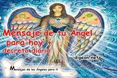 Mensaje de tu ÁNGEL PARA HOY + decreto DIARIO + DECRETO PARA ENCONTRAR UN EMPLEO