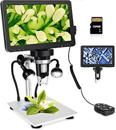Amazon.com : LCD Digital USB Microscope 7 in HD Screen 32 G TF Card, Circuit Board Repair Soldering PCB Coins,12mp Video Camera Microscope,8 Adjustable Light, 1-1200X Magnification with Rechargeable Battery。 : Electronics Usb Microscope, Digital Microscope, Top Digital Cameras, Small Figurines, Fill Light, Circuit Board, Video Camera, Soldering, Sd Card