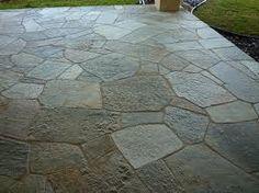 quartzite patio surface