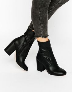 Image 1 of ASOS ELOUISE Sock Boots