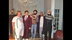 All your favorite Will Ferrell characters in one epic group costume. Great idea, maybe do the same with a different celebrity.