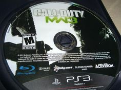 Call of Duty MW3 Modern Warfare 3 Just Game Disc Great Condition