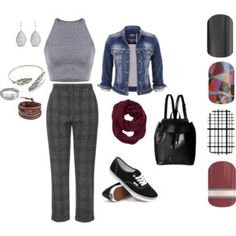 Back to School Teacher Style Back To School Teacher, Teacher Style, Marc Jacobs, Topshop, Chan Luu, Polyvore, Whistles, Jamberry, Stuff To Buy