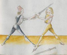 Lecküchner, Hans: Kunst des Messerfechtens Nordbayern, 1482 Cgm 582 Folio 271