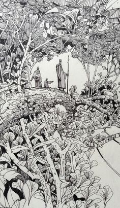 Sketchbook: Woodland.