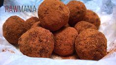 Tatínkovy pralinky RAW Raw Food Recipes, Truffles, Nutella, Muffin, Sweets, Cookies, Chocolate, Breakfast, Desserts