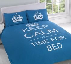 Keep Calm It's Time For #Bed
