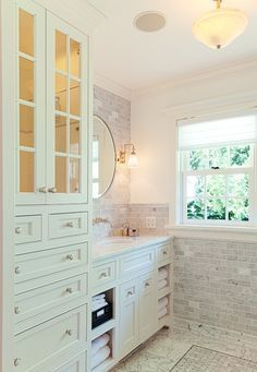 Bathroom Vanity with Tower Cabinet