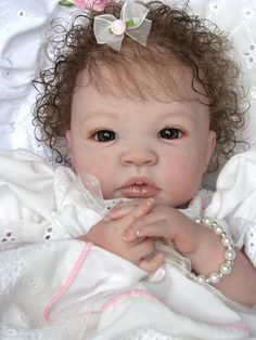 "Reborn Baby Doll Gorgeous ""Melody"" Shyann by Aleina Peterson 